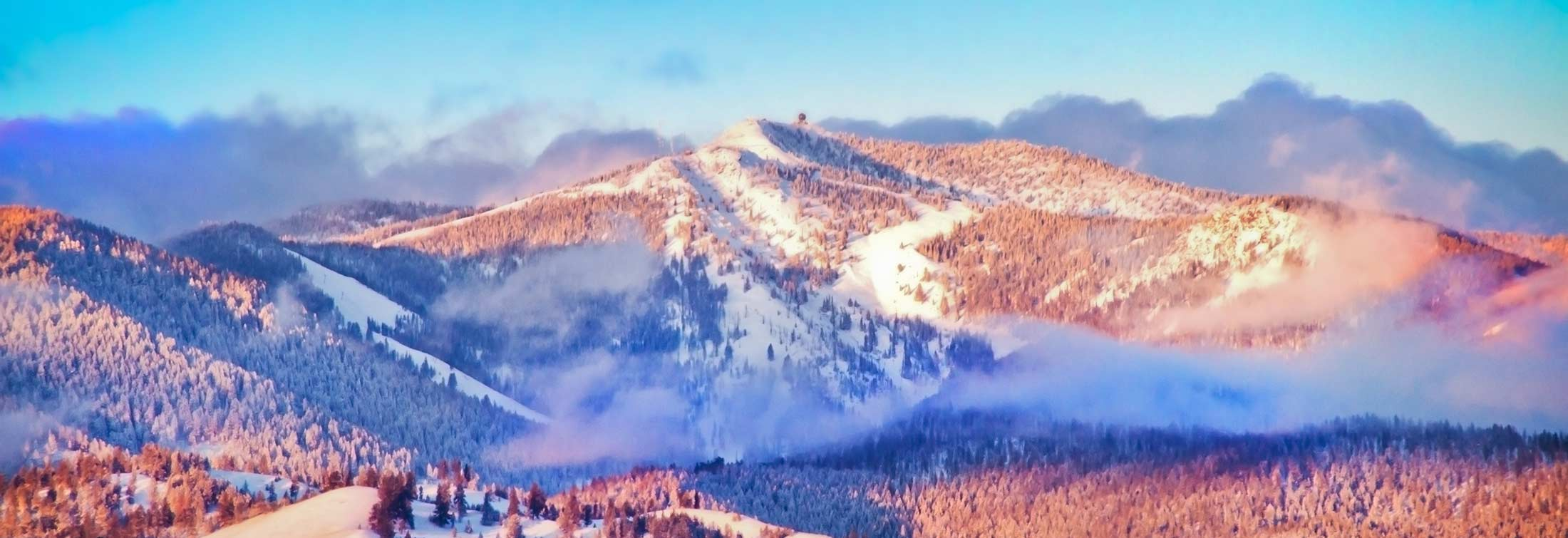 A Day of Skiing at Montana's Snowbowl
