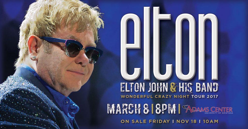 Elton John Missoula