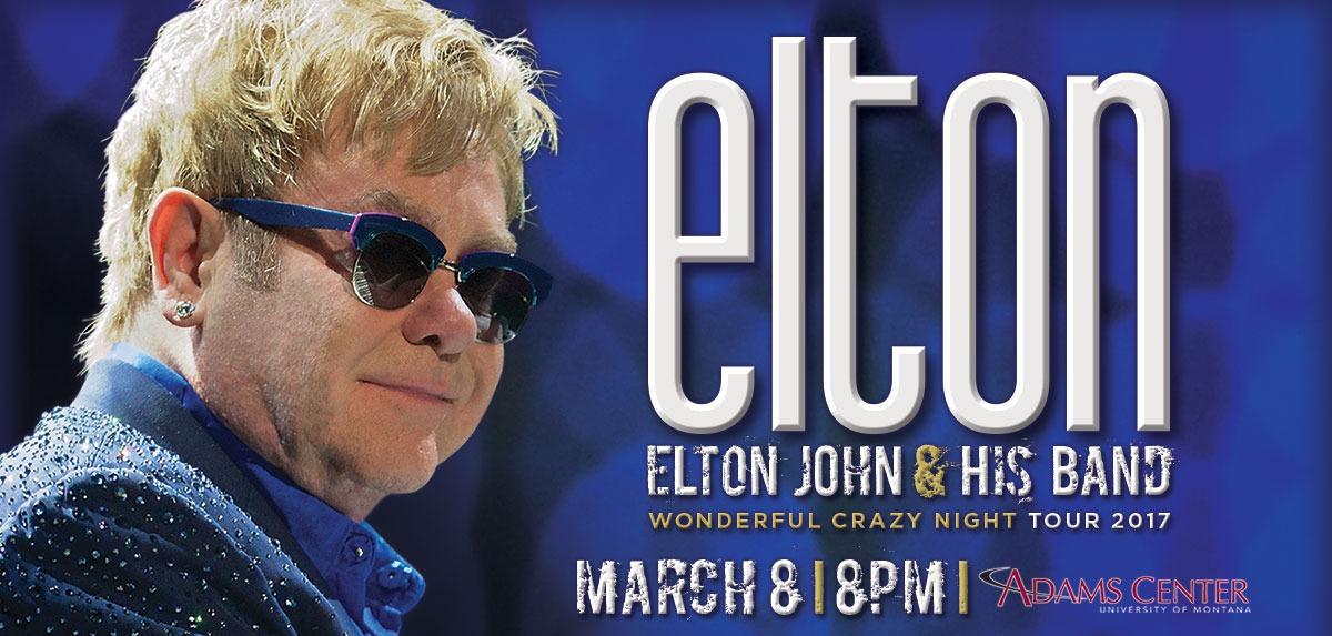 Elton John in Missoula
