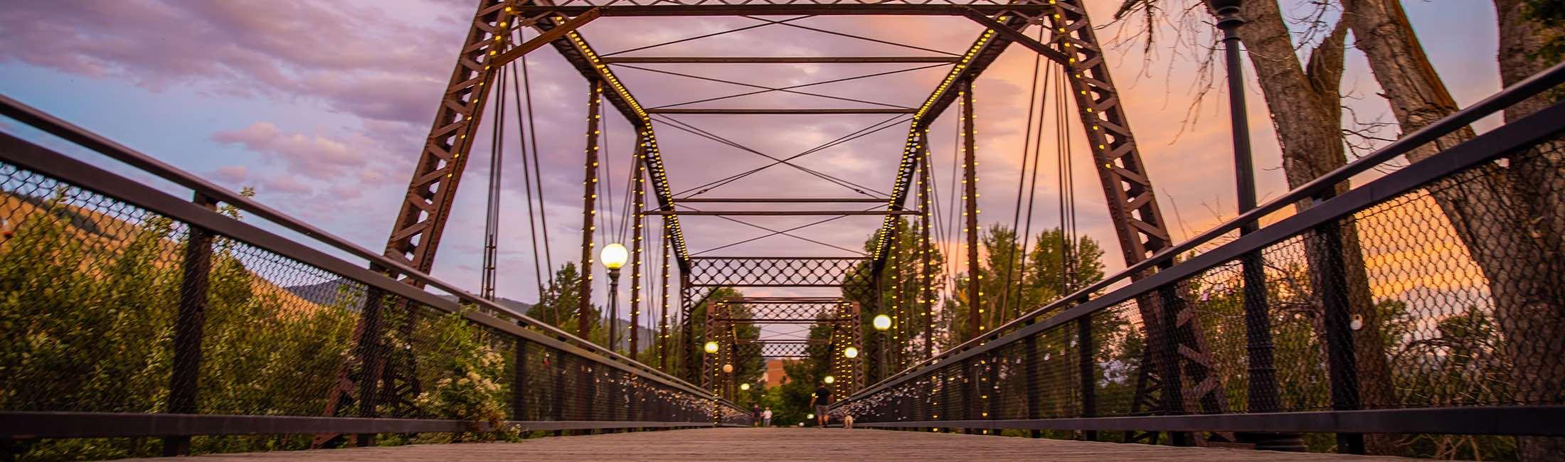 The History Behind Missoula's Iconic Lock Bridge